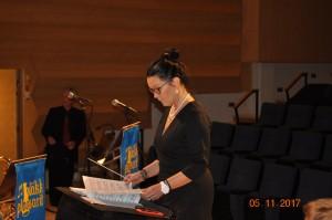 PP 40-vuotiskonsertti, kapellimestarina Anne Lehtomäki-Koskinen, juontajana Timo Koskinen